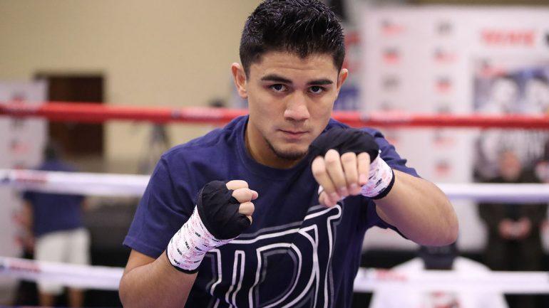 Joseph Diaz Jr. shuts out Horacio Garcia