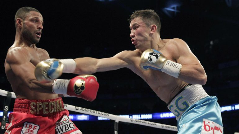 Golovkin's human, but still too much for valiant Brook