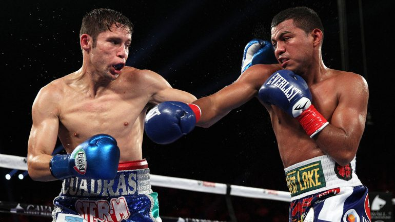 Gonzalez and Cuadras give fans one to remember