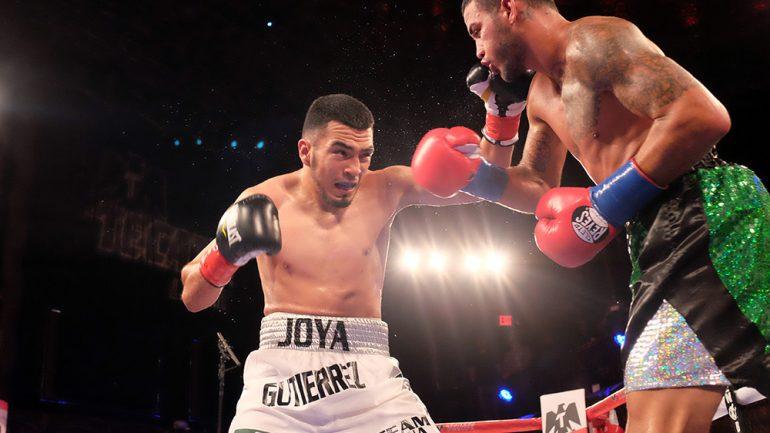 Antonio Gutierrez outworks, outpoints Jorge Melendez