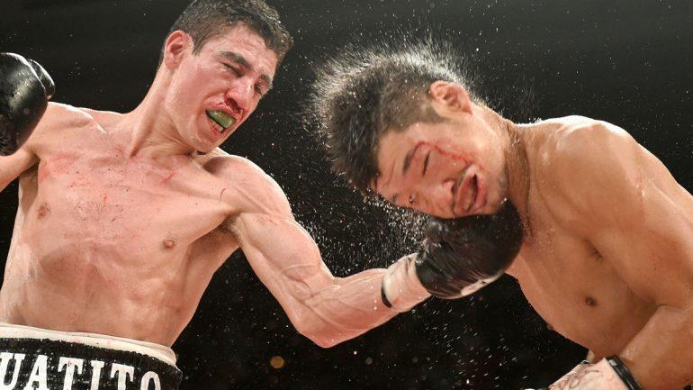 Hozumi Hasegawa vs. Hugo Ruiz by Naoki Fukuda