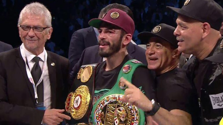 Jorge Linares crashes Anthony Crolla's party