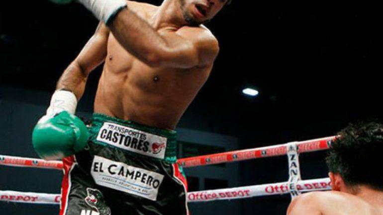 Luis Nery blasts Richie Mepranum in two rounds