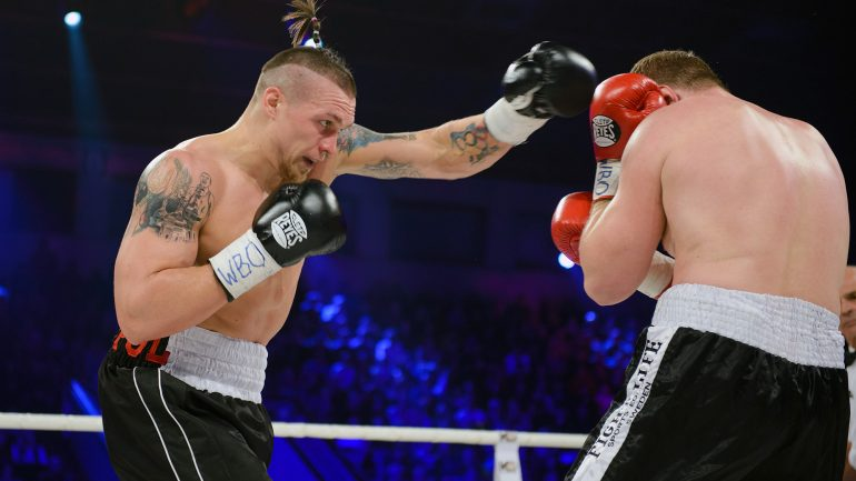 Oleksandr Usyk wants to face Anthony Joshua one day
