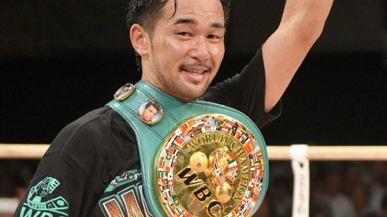 Yamanaka TKOs Anselmo in seven, wins vacant RING championship