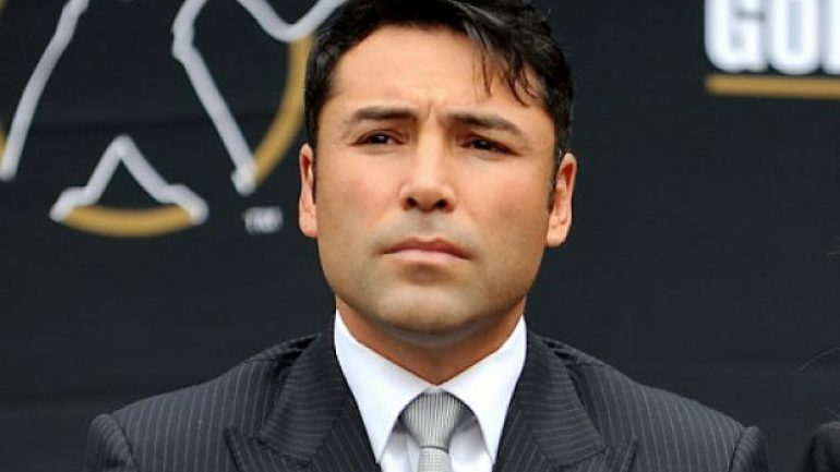Oscar De La Hoya arrested Tuesday night on suspicion of DUI