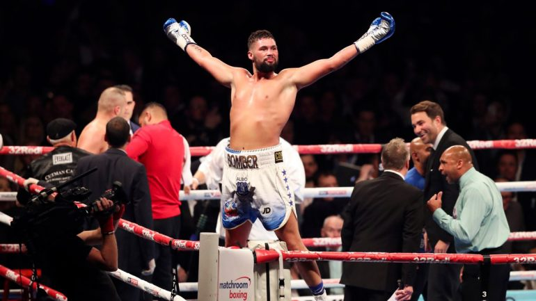 Bellew bombs out Flores, goes wild at David Haye
