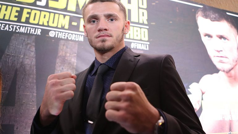 DeGuardia says Smith is Fighter of Year over Crawford, Frampton