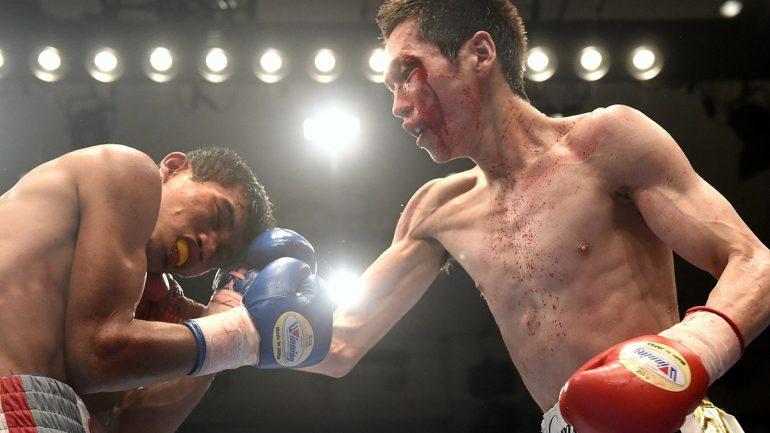 Hisashi Amagasa vs. Carlo Demecillo by Naoki Fukuda