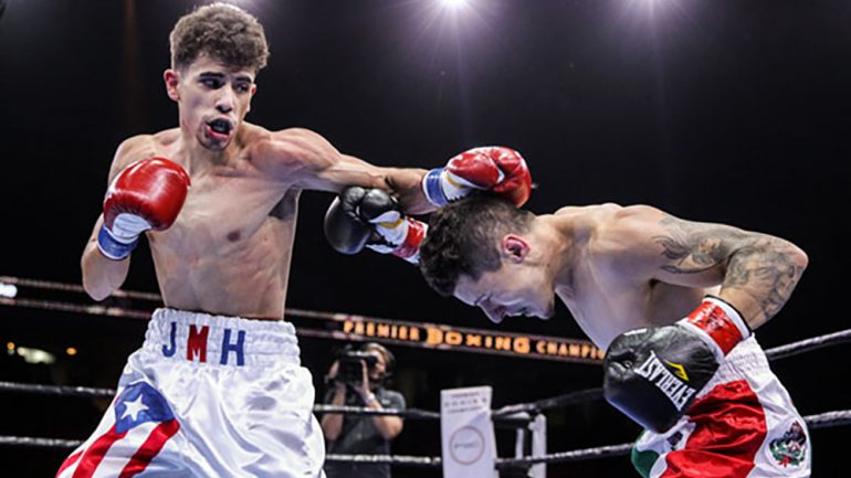 Hernandez goes 4-0 balancing boxing and college