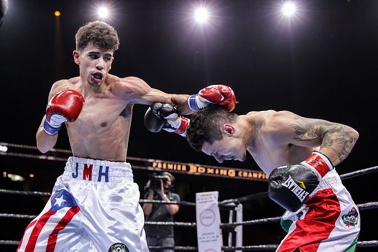 Hernandez Goes 4 0 Balancing Boxing And College The Ring
