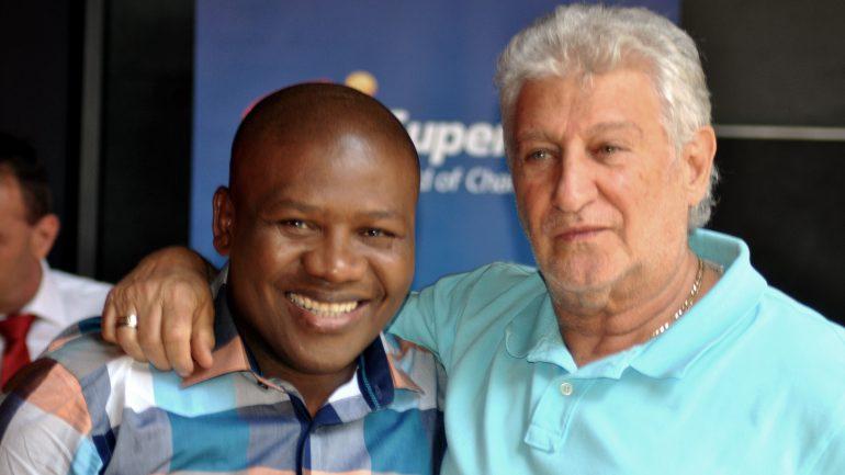 Veteran South African promoter Rodney Berman is still going strong