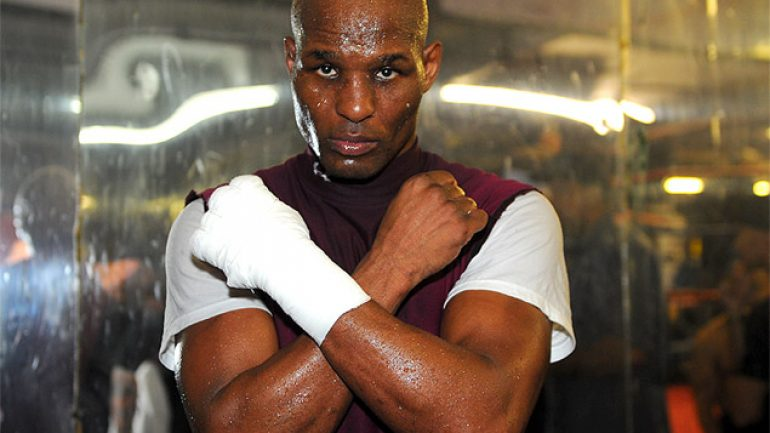 Bernard Hopkins gets his first call from a Hall of Fame