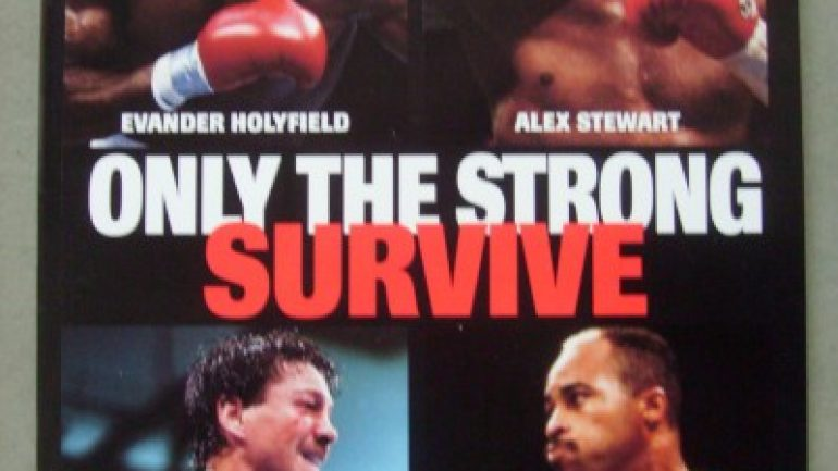 Heavyweight Alex Stewart, who once fought Tyson, has died.