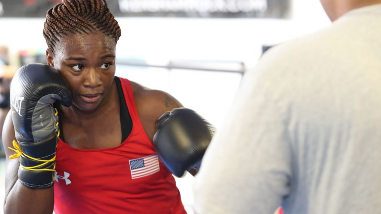 Claressa Shields outpoints Franchon Crews in her pro debut