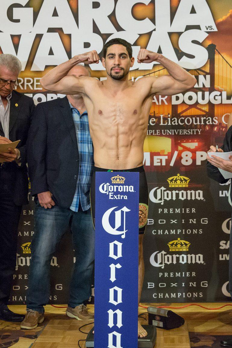 Danny Garcia-Samuel Vargas weigh-in - The Ring