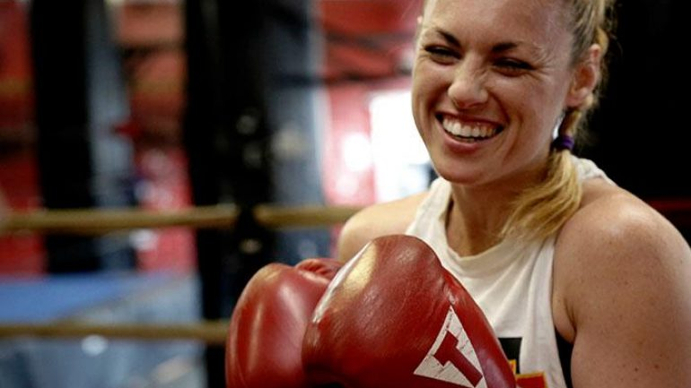Heather Hardy's next fight is sealed with a Kiss