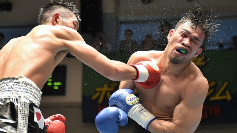 Hiroki Okada vs. Valentine Hosokawa by Naoki Fukuda