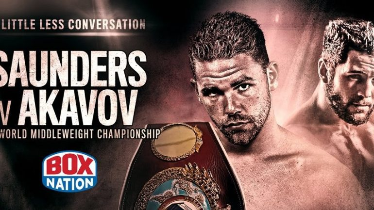 Billy Joe Saunders-Artur Akavov title bout postponed again