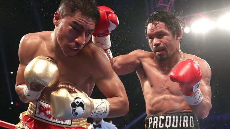 Pacquiao vs. Horn on April 22 likely to be shown on HBO or HBO PPV