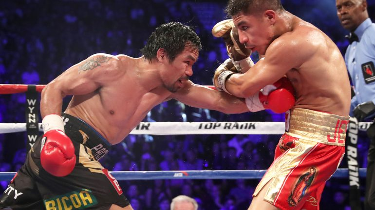 Keith Thurman dismisses Manny Pacquiao as afterthought at 147