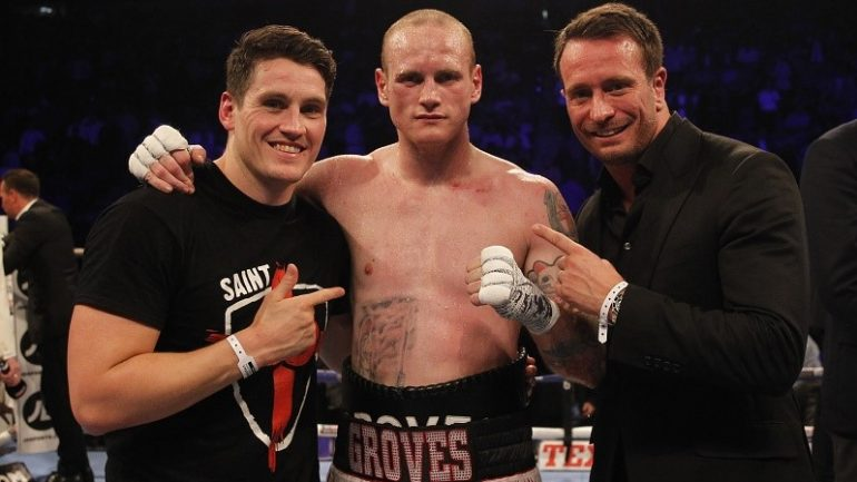George Groves captures title in 6th-round TKO of Fedor Chudinov
