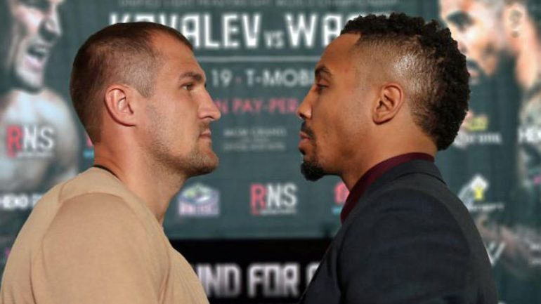 THE RING light heavyweight title at stake in Ward-Kovalev II