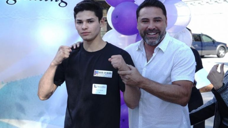 Golden Boy signs amateur star Ryan Garcia