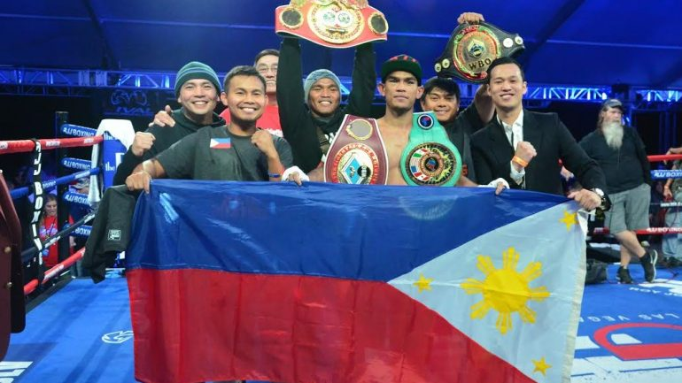 Filipino boxer Aston Palicte gets it right in U.S. debut