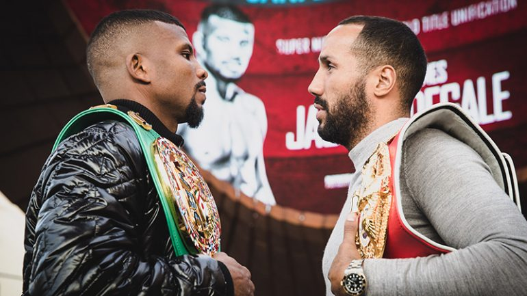 DeGale-Jack and the RING super middleweight title