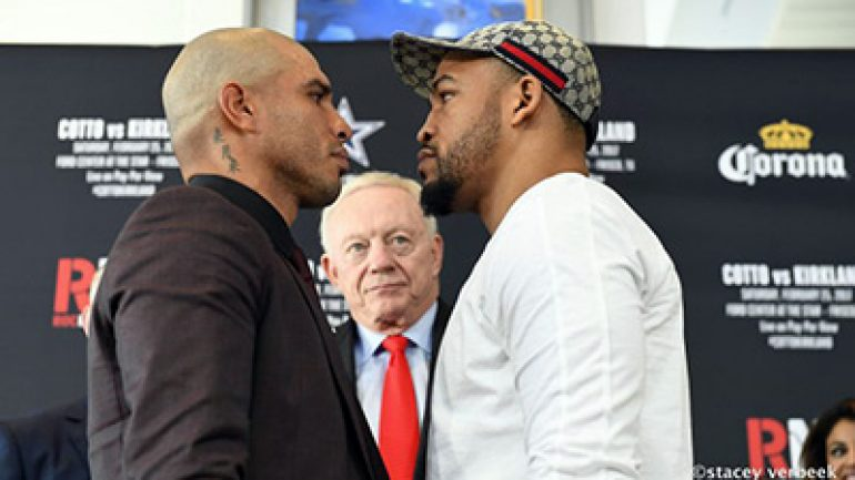 Miguel Cotto vs. James Kirkland canceled after Kirkland injured
