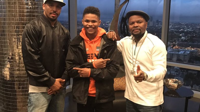 Floyd Mayweather still hopeful to work with Shakur Stevenson
