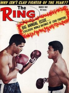 Ring Magazine Cover -  Ernie Terrell and Cassius Clay