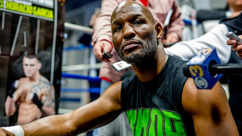Hopkins accepts 'old man' role but says he can beat Smith and Father Time