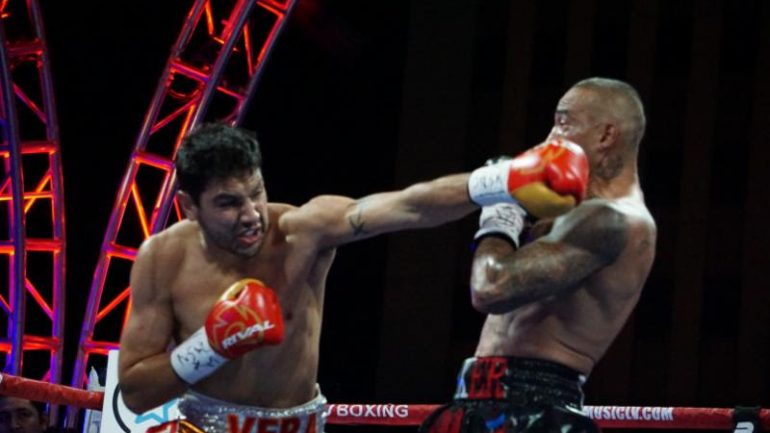 Junior middleweight prospect John Vera steps up in class against Michel Soro