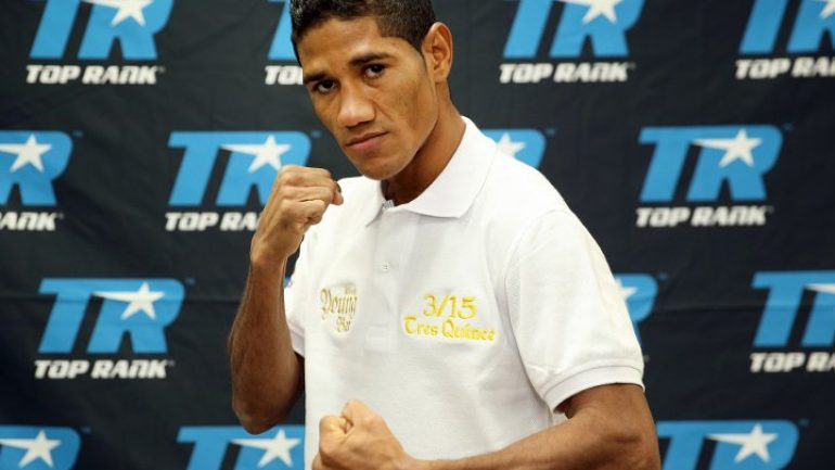 Miguel Marriaga stops Eduardo Montoya in three
