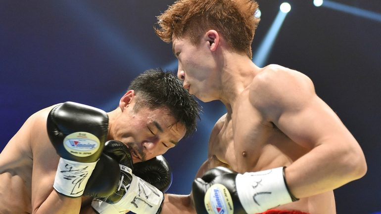 Naoya Inoue strives to improve