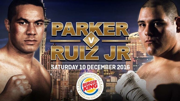 Fans are buzzing about Joseph Parker-Andy Ruiz heavyweight tilt