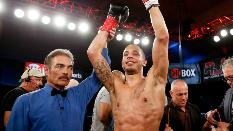 Rob Brant stops Alexis Hloros in first round