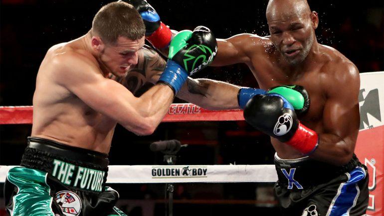 Joe Smith Jr. scores bizarre TKO victory over Bernard Hopkins