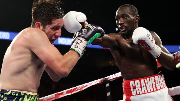 Crawford views himself as No. 2 pound-for-pound fighter in sport