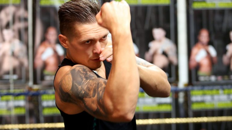 Oleksandr Usyk drops Bashir, takes Lomachenko as trainer