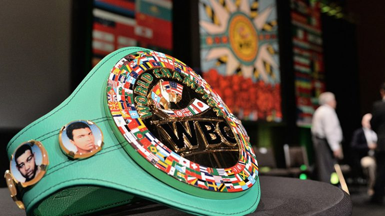 Mandatory challengers named at WBC annual convention