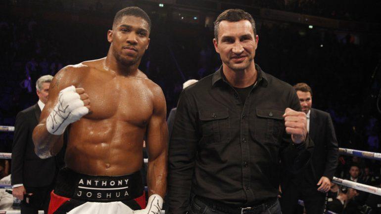 Joshua vs. Klitschko: The Bromance We Need