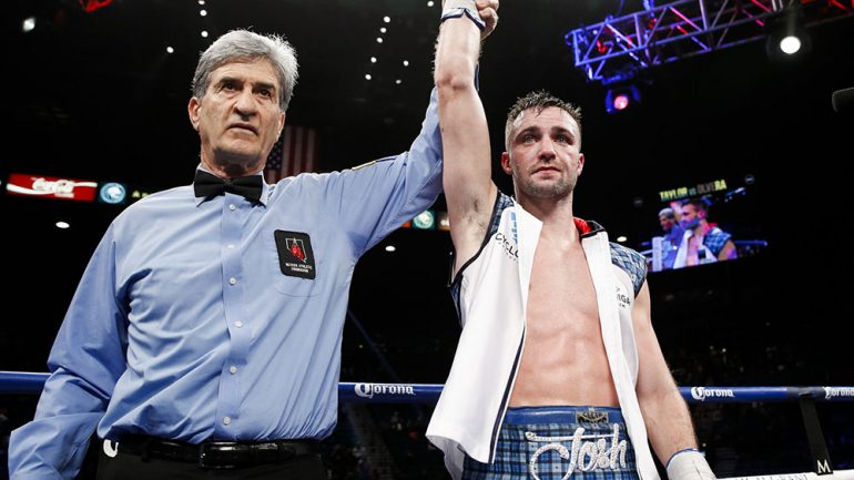 Josh Taylor returns Friday in Edinburgh, Scotland