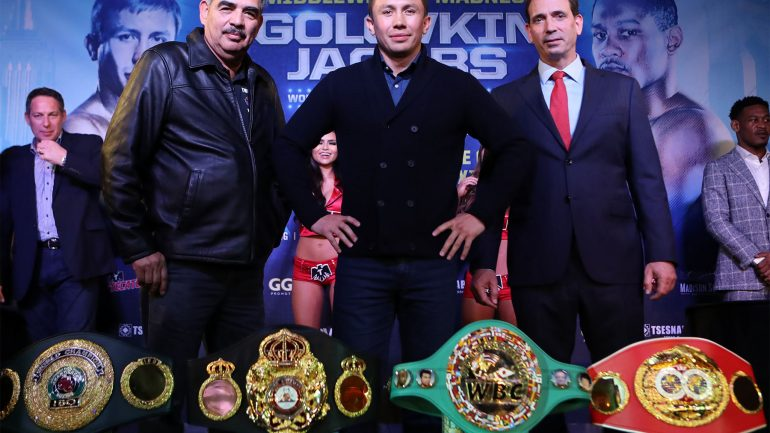Gennady Golovkin's boxing boredom ends with Jacobs fight