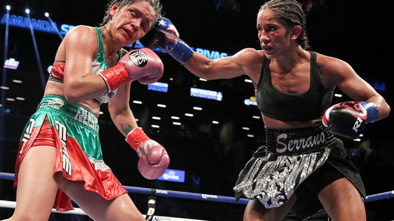 Could Amanda Serrano ditch women's boxing for good?