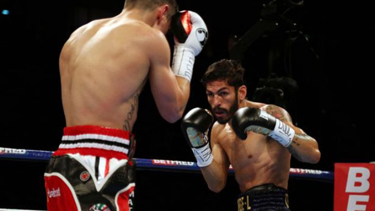 Jorge Linares: I no longer have the luxury to lose