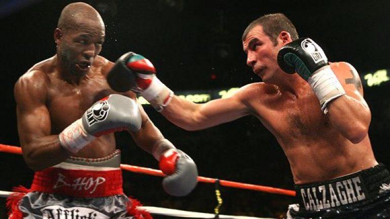 Bernard Hopkins, Joe Calzaghe recall their light heavyweight showdown 10 years later