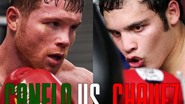 Canelo will take on Chavez Jr. at T-Mobile Arena in Las Vegas